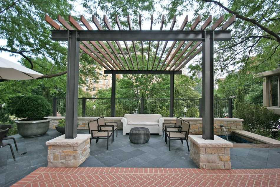 unique and elegant patio pergola designs pergola gazebos. Black Bedroom Furniture Sets. Home Design Ideas