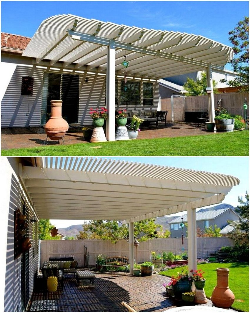 What is a pergola used for wall convector