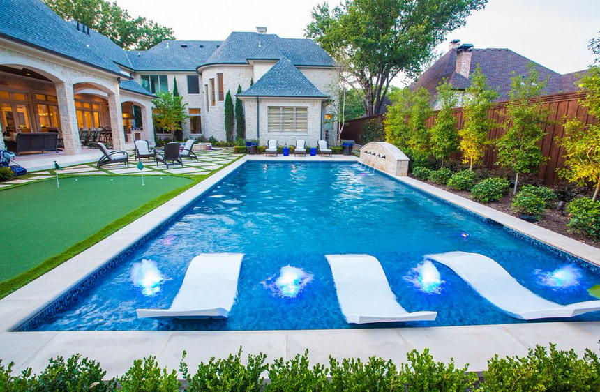 luxury swimming pool designs 14