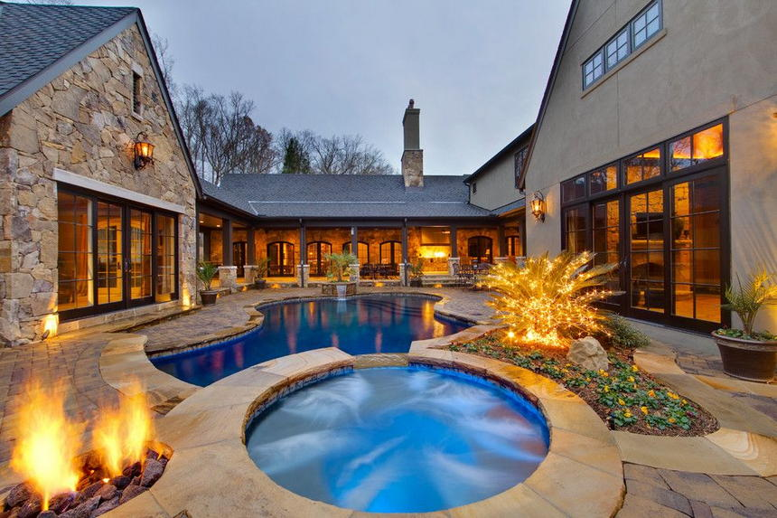 luxury swimming pool designs 3