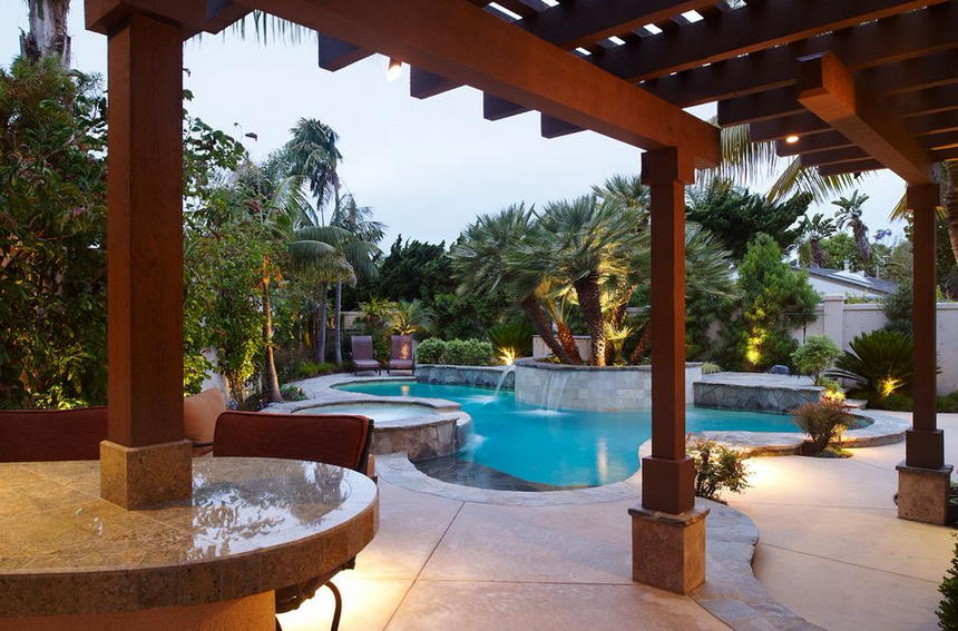 luxury swimming pool designs 6