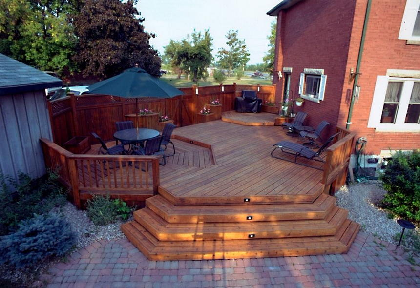 modern patio deck ideas 0