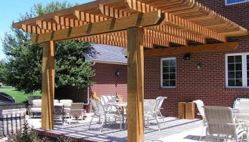 Masterly Accomplished Patio Pergola Achievements