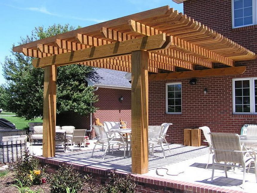 patio pergola ideas 21