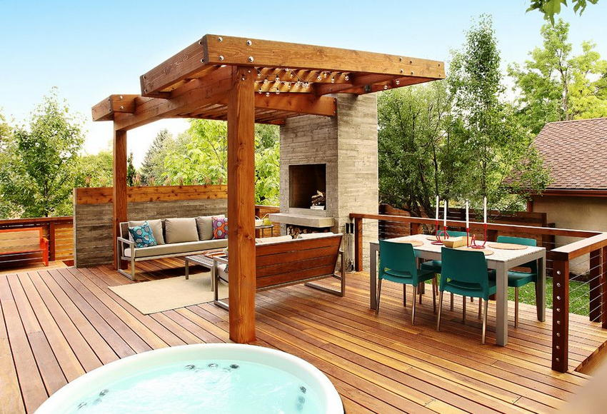 modern deck designs 0 - 2