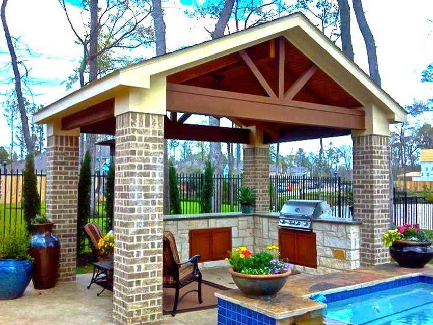 outdoor kitchen ideas 16