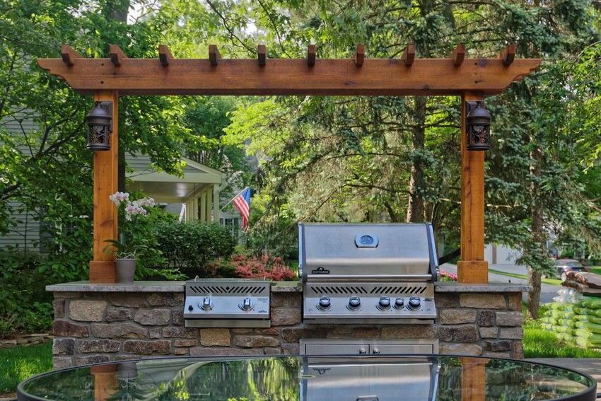 outdoor kitchen ideas 21