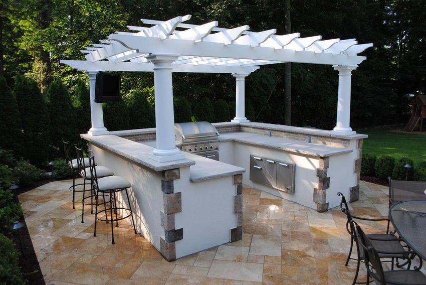outdoor kitchen ideas 23