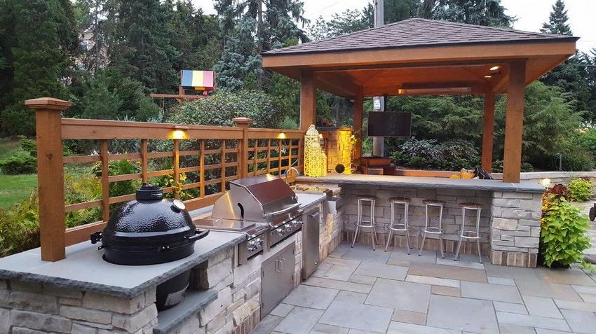 outdoor kitchen ideas 24