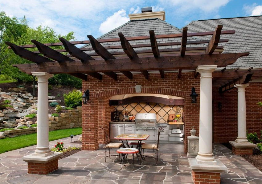 outdoor kitchen ideas 3