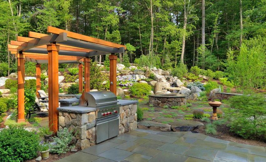 outdoor kitchen ideas 37