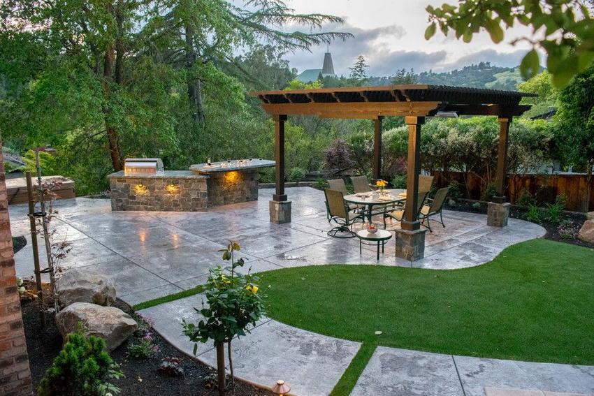 outdoor kitchen ideas 9