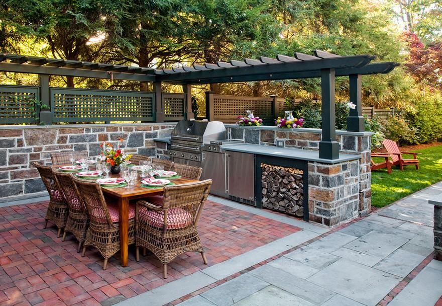 outdoor kitchen plans 12
