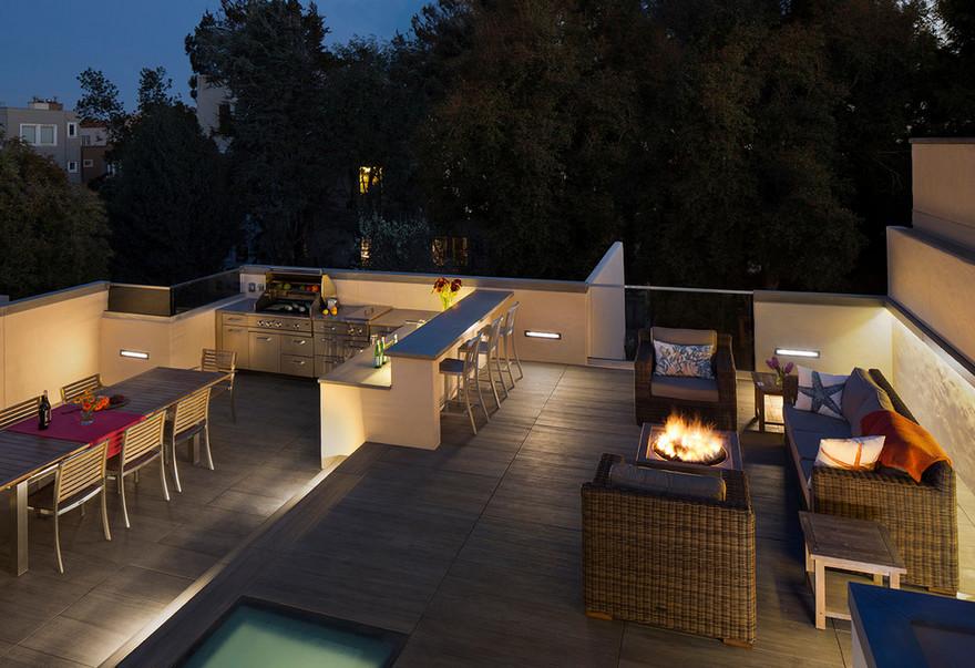 outdoor kitchen plans 15
