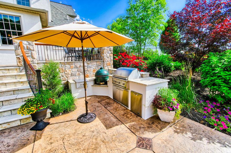 outdoor kitchen plans 16