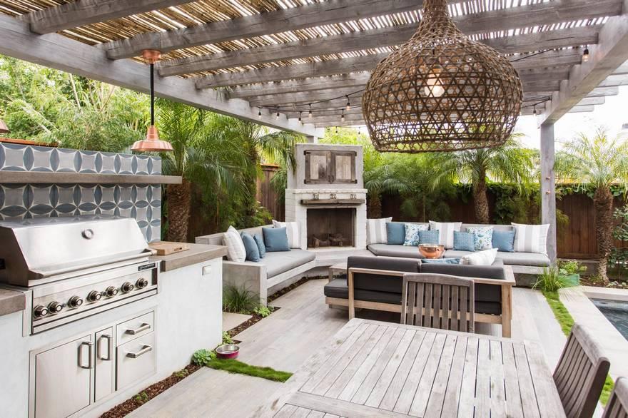 outdoor kitchen plans 18