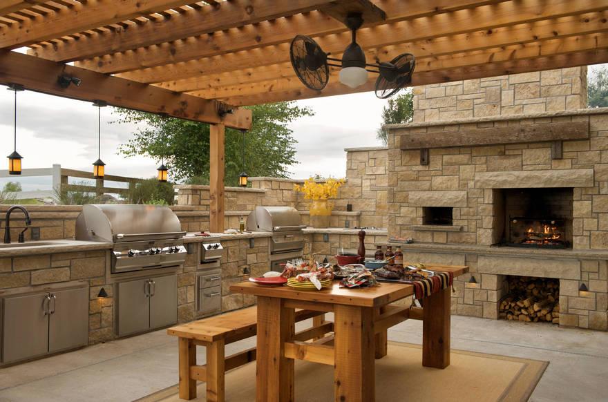 outdoor kitchen plans 2
