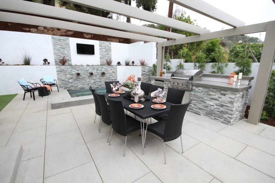 outdoor kitchen plans 20