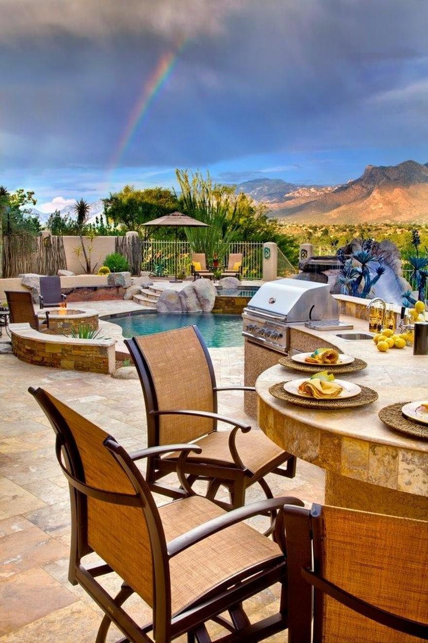 outdoor kitchen plans 21