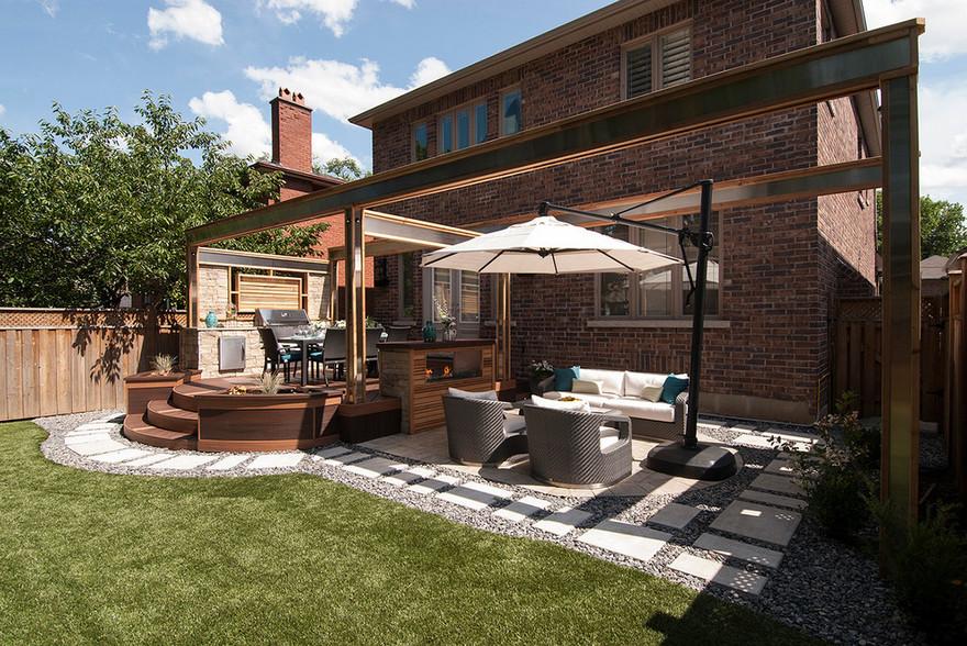 outdoor kitchen plans 29