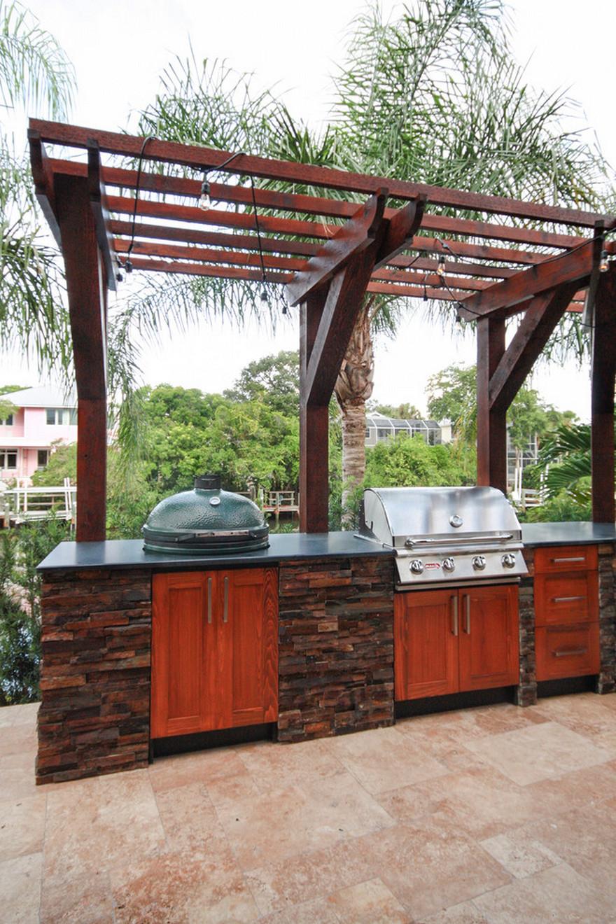 outdoor kitchen plans 32
