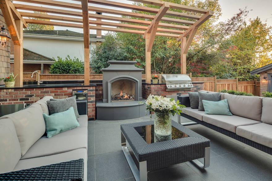 outdoor kitchen plans 33