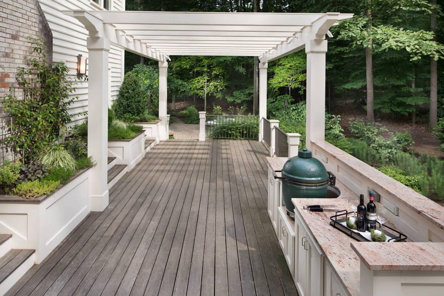 outdoor kitchen plans 35