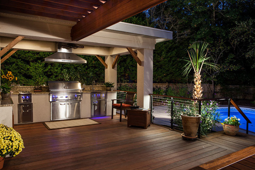 outdoor kitchen plans 36