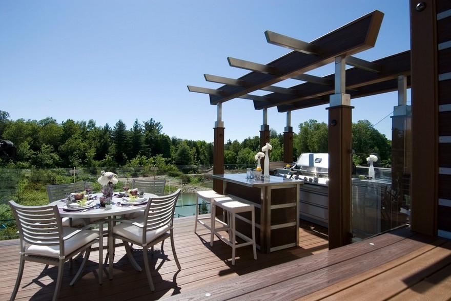 outdoor kitchen plans 37