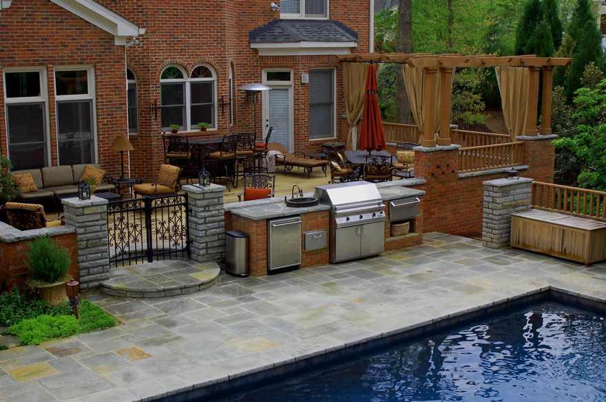 outdoor kitchen plans 4