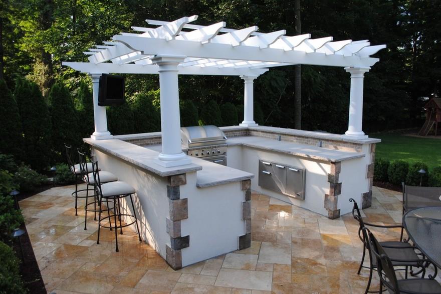 outdoor kitchen plans 5