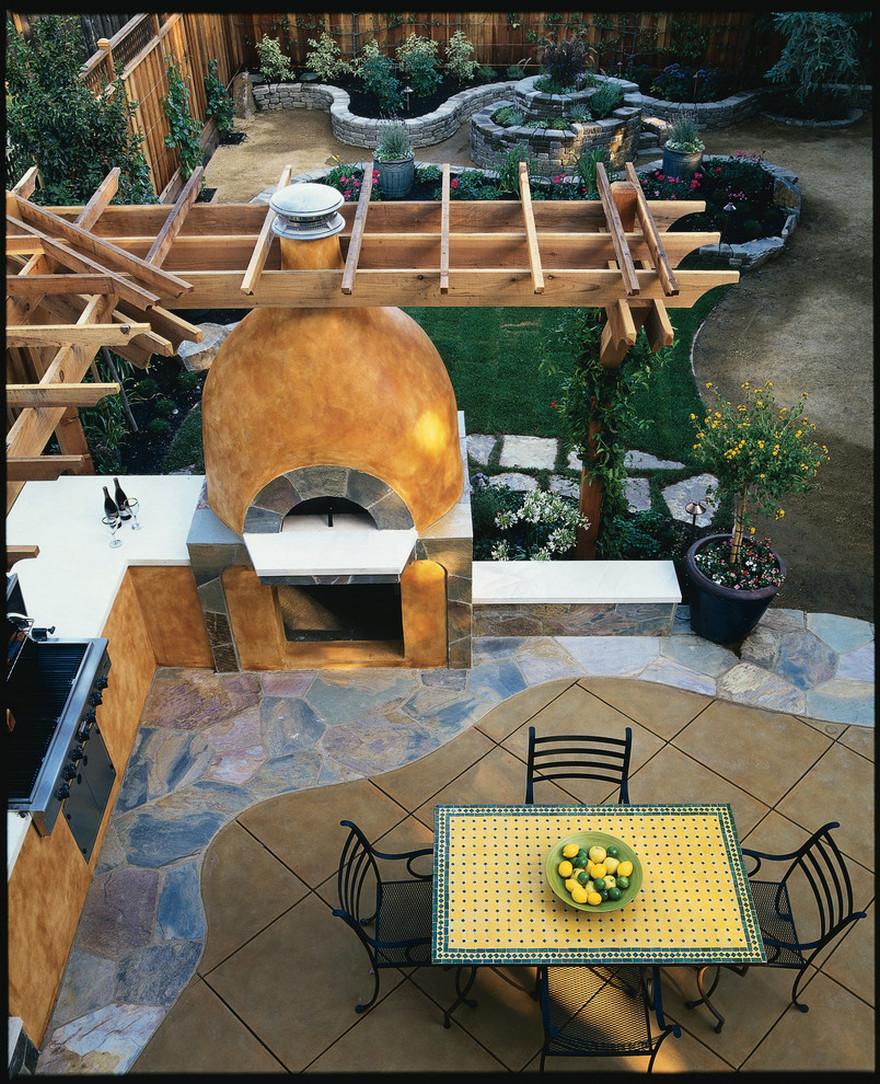 outdoor kitchen plans 6