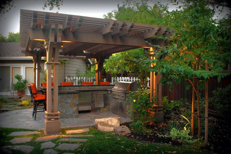outdoor kitchen plans 9