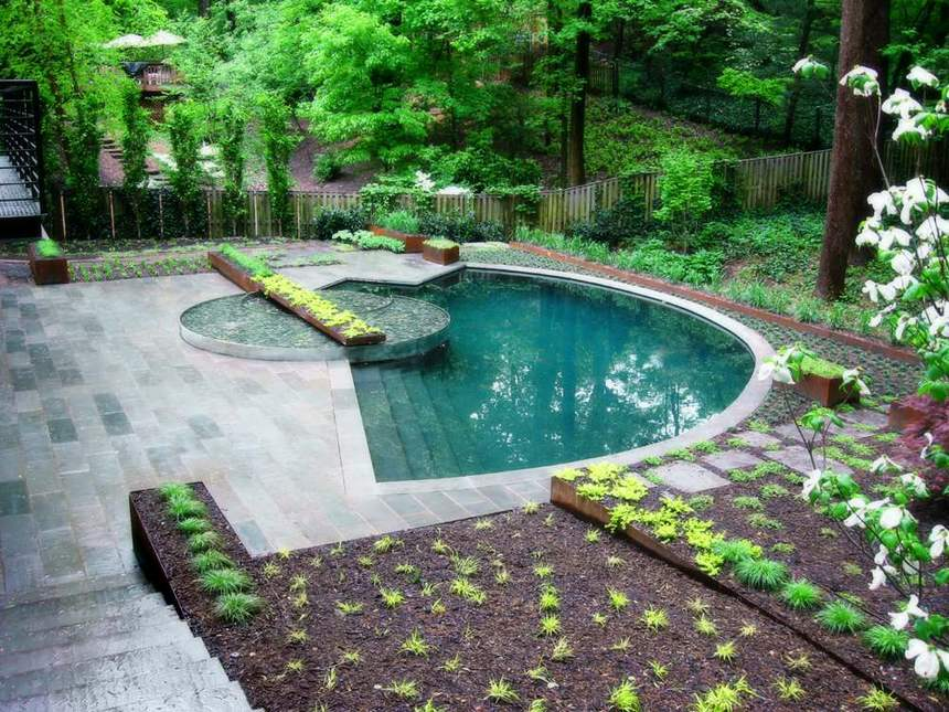 outdoor pool design ideas 45