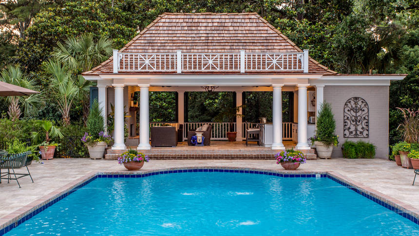 pool house designs 1 - 2