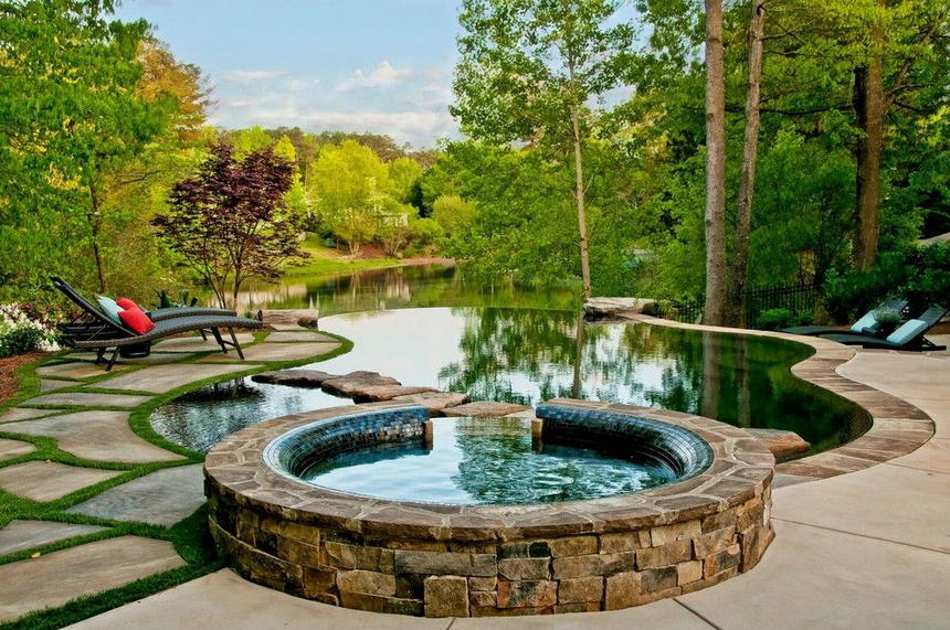 Luxury Outdoor Hot Tubs and Modern Spas (11)