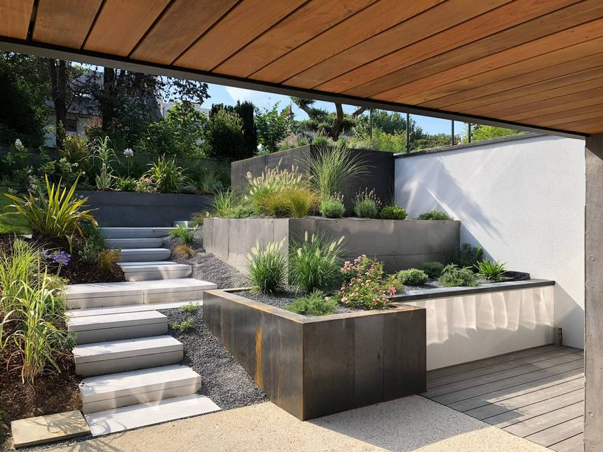 Contemporary Landscaping Ideas (2)