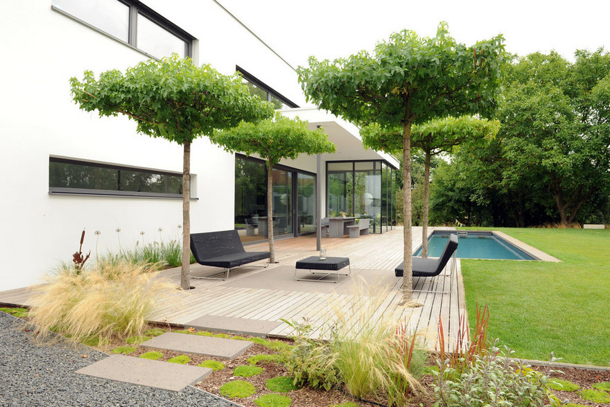 Contemporary Side Yard (28)