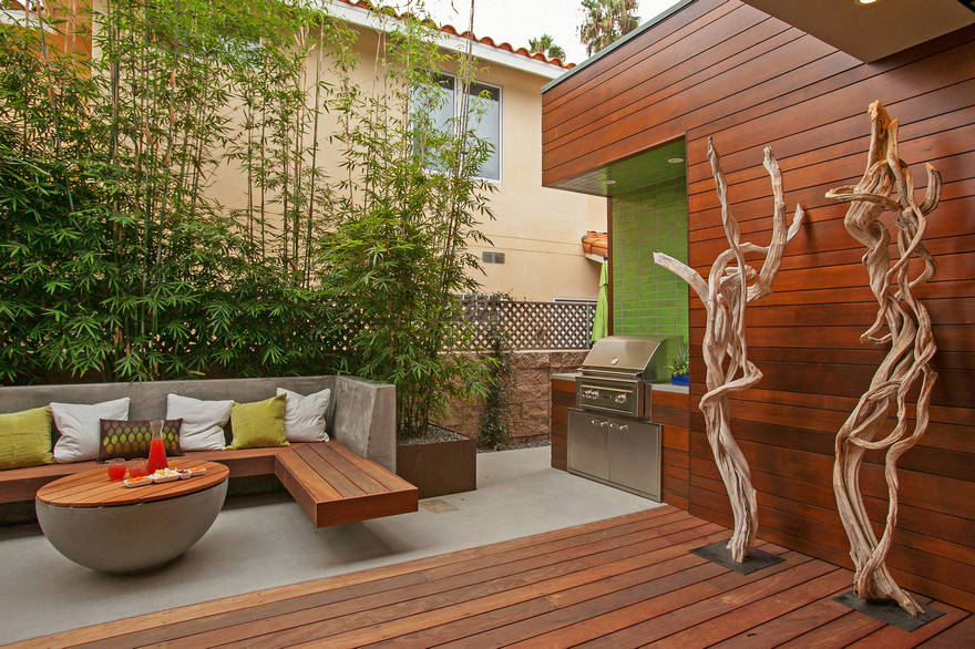 Contemporary Side Yard (6)