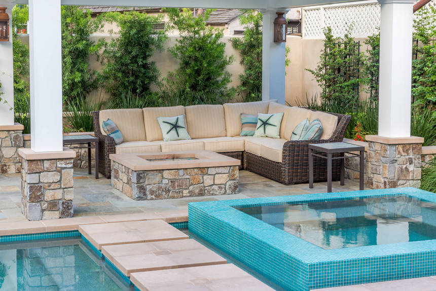 Beach Themed Patio Ideas (9)
