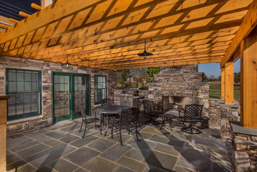 farmhouse patio ideas (33)