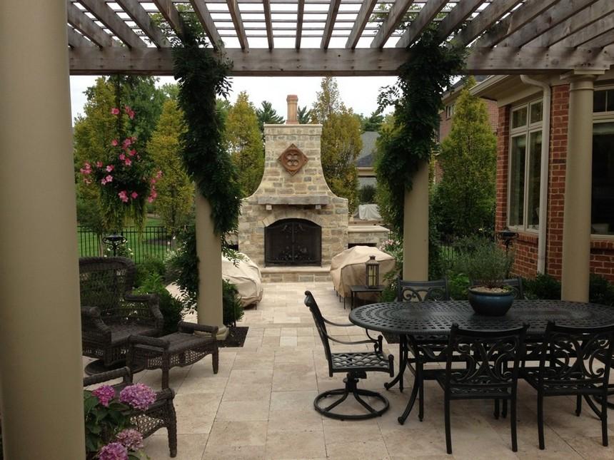 farmhouse patio ideas (46)
