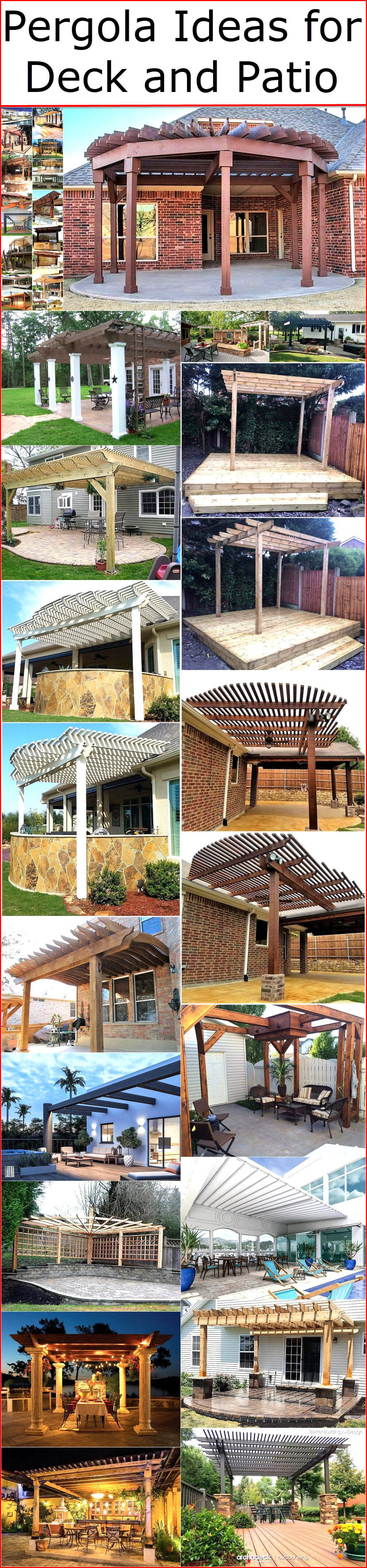 Pergola Ideas for Deck and Patio