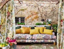 Shabby-Chic Style Outdoor Patio Design Ideas