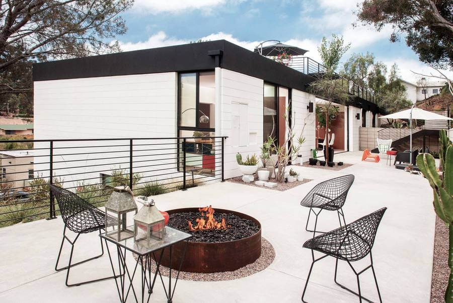Contemporary Outdoor Patio (58)